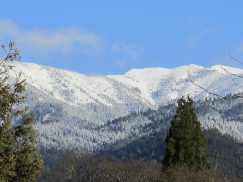 View from Weaverville 4/1/12